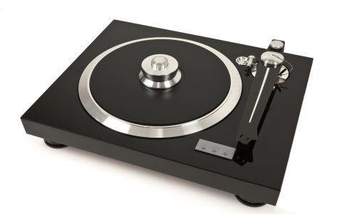E.A.T. E-Flat Turntable; European Audio Team Announces Its Third Turntable … With A Radical New Tonearm!