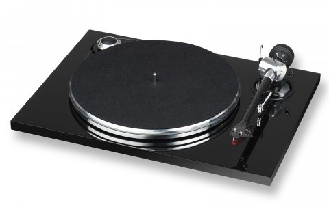 E.A.T. Prelude Turntable - black motor