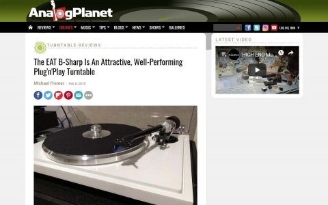 E.A.T. B-Sharp review by AnalogPlanet