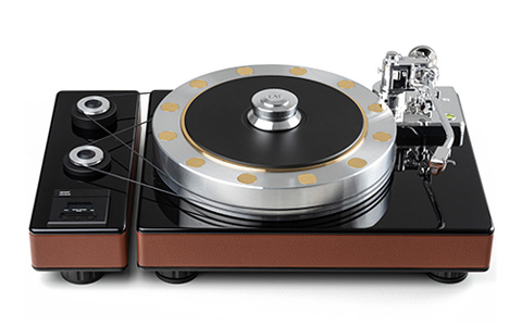 E.A.T. Fortissimo Turntable; Massive turntable with Subchassis