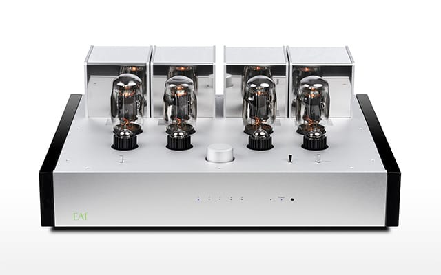 E.A.T. E-Glo i; Highend integrated tube amplifier with classy sound & look!